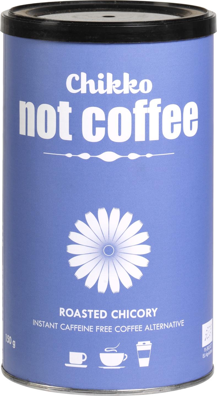 Biologische Chikko Not Coffee Cafeïnevrij alternatief voor koffie 150 gr