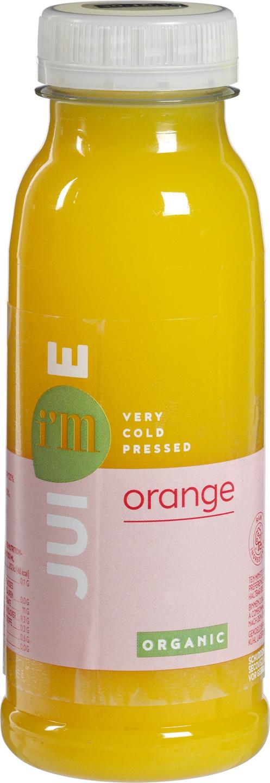 Biologische I'm juice Sinaasappelsap 250 ml