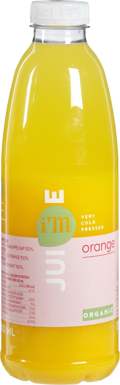 Biologische I'm juice Sinaasappelsap 1 L