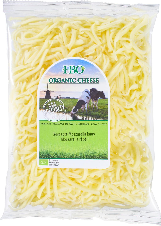 Biologische Holland Bio Organic Geraspte Mozzarella 150 gr