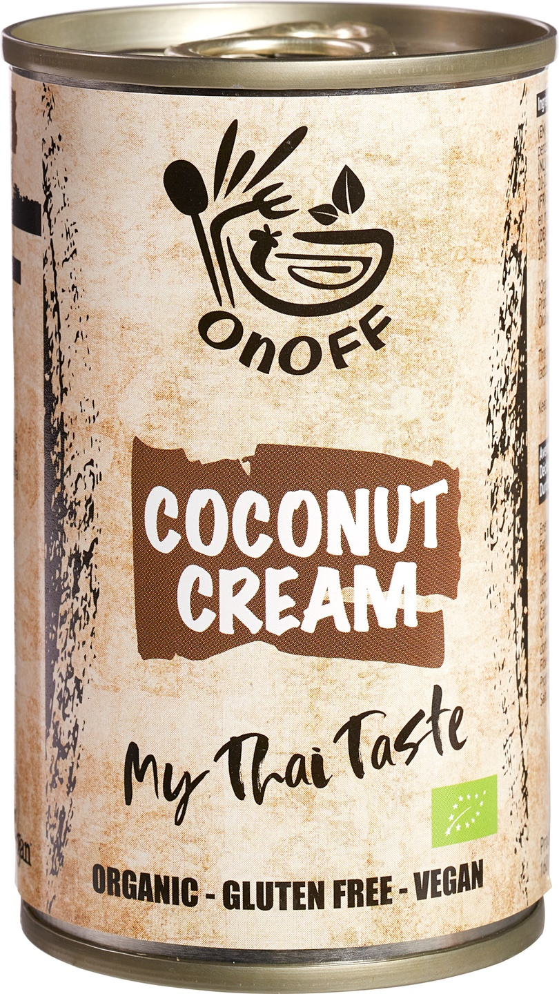 Biologische onoff spices! Thaise kokosroom 160 ml