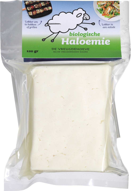 Biologische De Vreugdehoeve Haloemie 120 gr