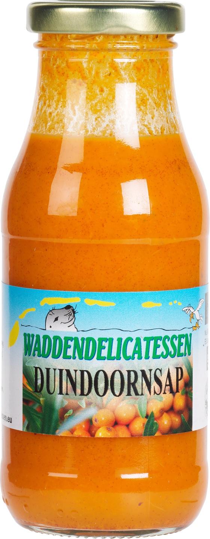 Biologische Waddendelicatessen Duindoornsap 250 ml
