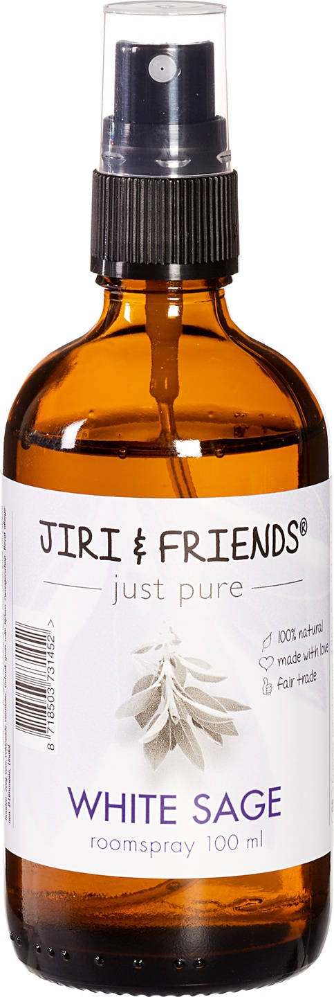 Biologische Jiri & Friends Roomspray White Sage Witte Salie 100 ml
