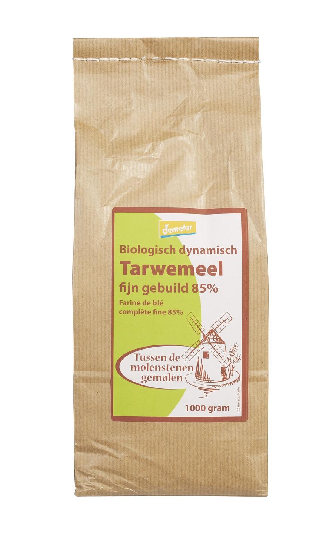 Biologische Hermus Tarwemeel fijn gebuild 85% 1000 gr