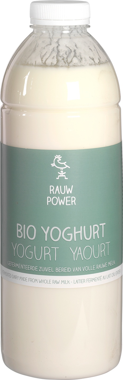 Biologische Rauw Power Yoghurt 1 L