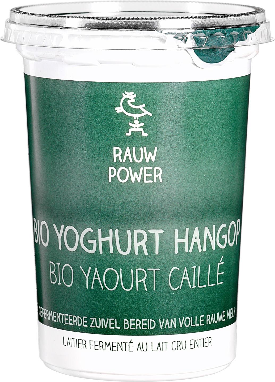 Biologische Rauw Power Yoghurt hangop 500 ml