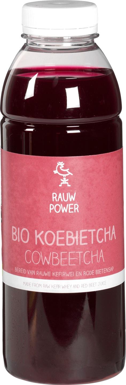 Biologische Rauw Power Koebietcha 500 ml