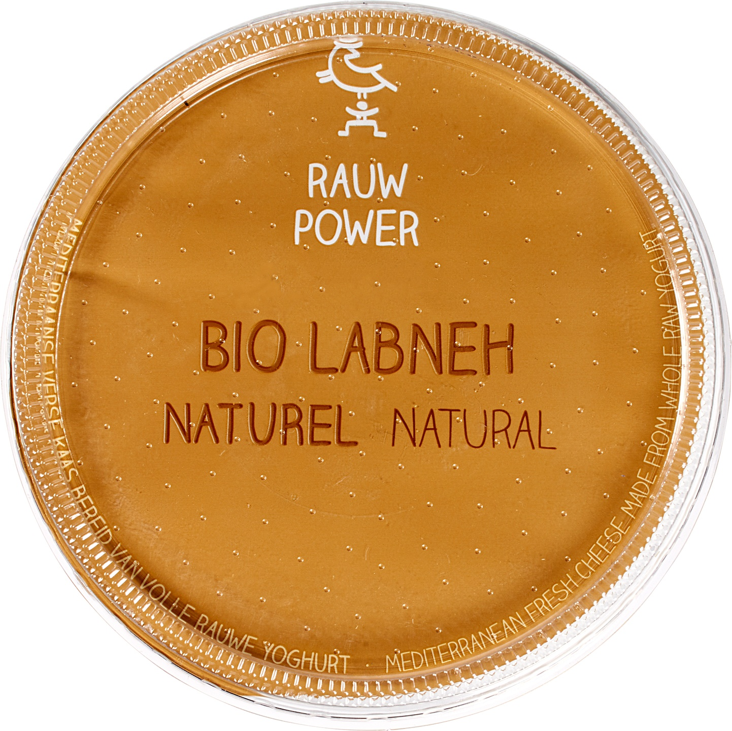 Biologische Rauw Power Labneh naturel 180 ml