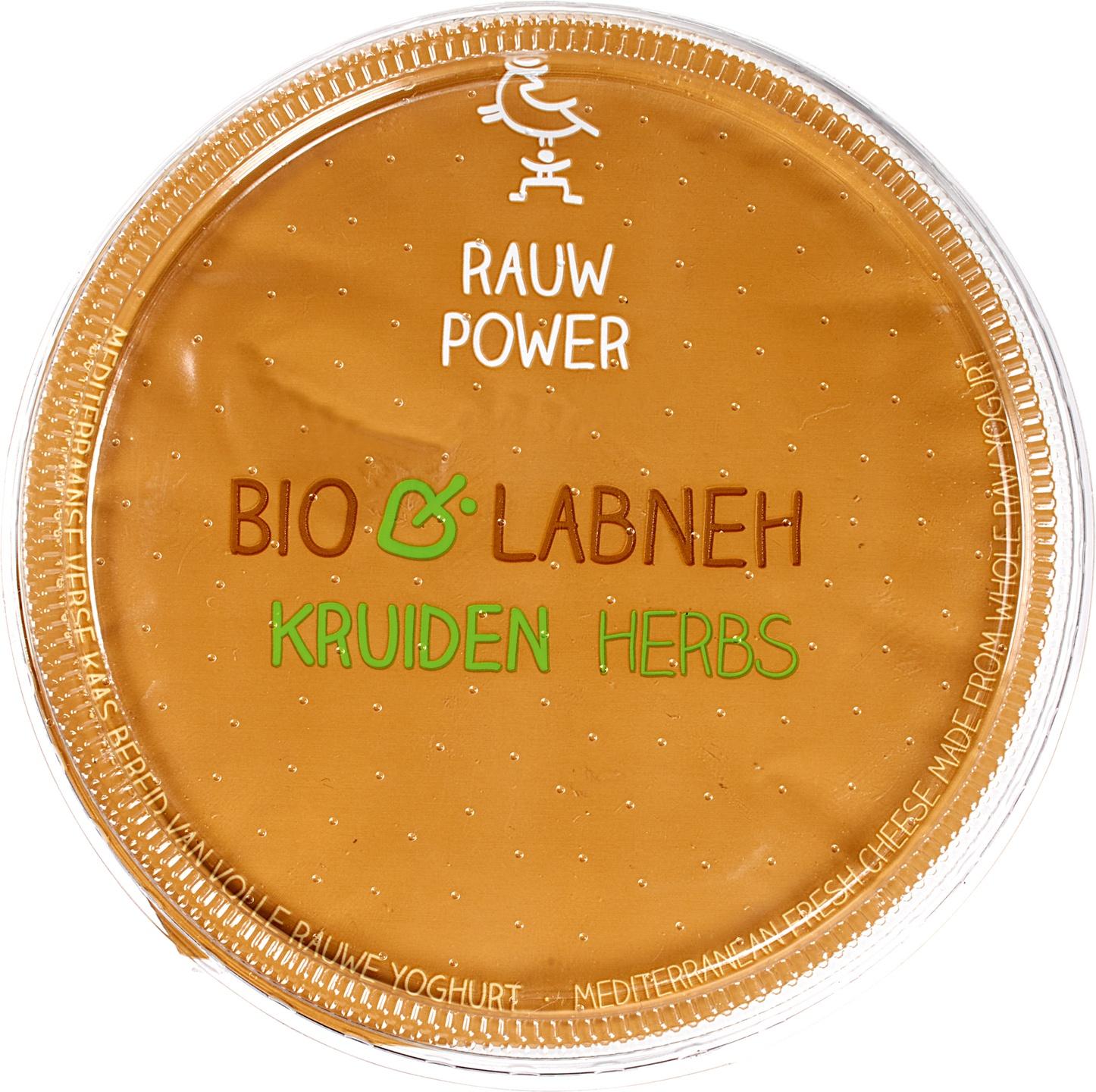 Biologische Rauw Power Labneh gekruid 180 ml