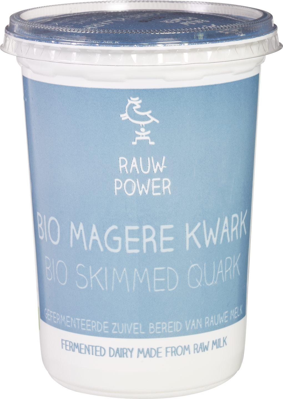 Biologische Rauw Power Magere kwark 500 ml