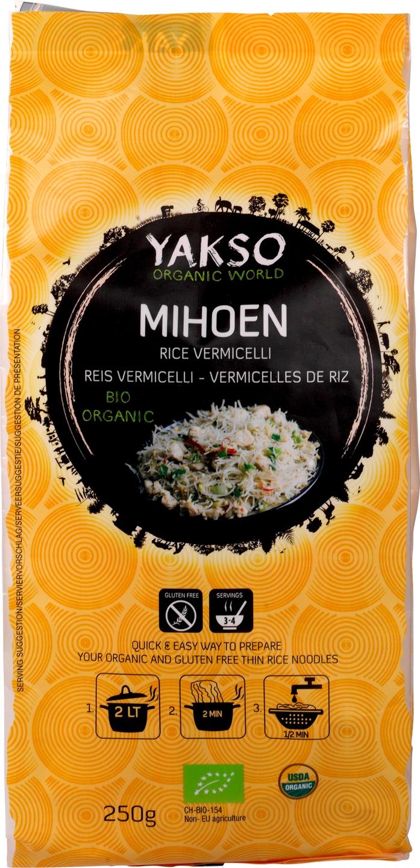 Biologische Yakso Mihoen 250 gr
