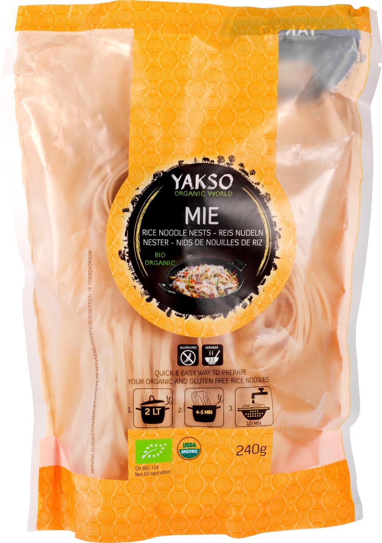 Biologische Yakso Mie nestjes 240 gr