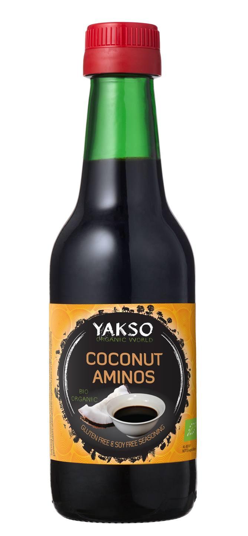 Biologische Yakso Coconut aminos 250 ml
