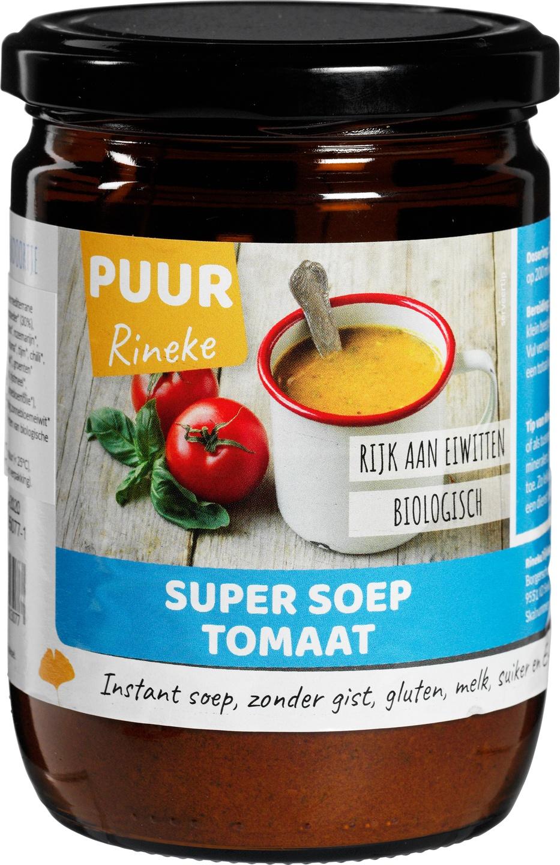 Biologische Puur rineke Super soep tomaat 224 gr