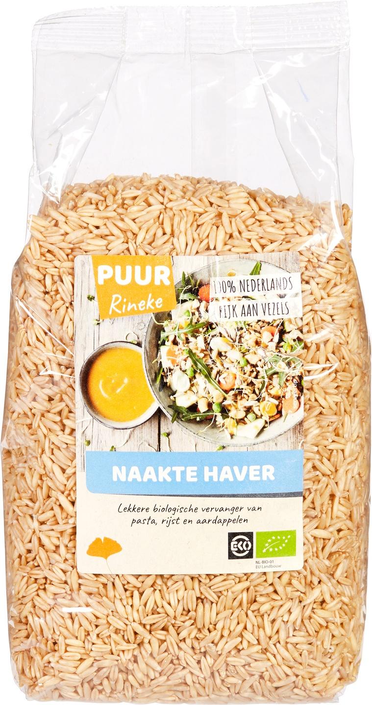 Biologische Puur rineke Naakte haver 1 kg