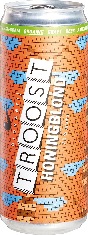 Biologische Brouwerij Troost Bier Honingblond 330 ml