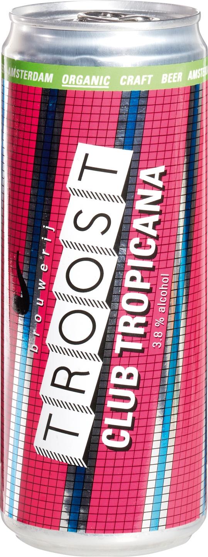 Biologische Brouwerij Troost Bier Club Tropicana 330 ml