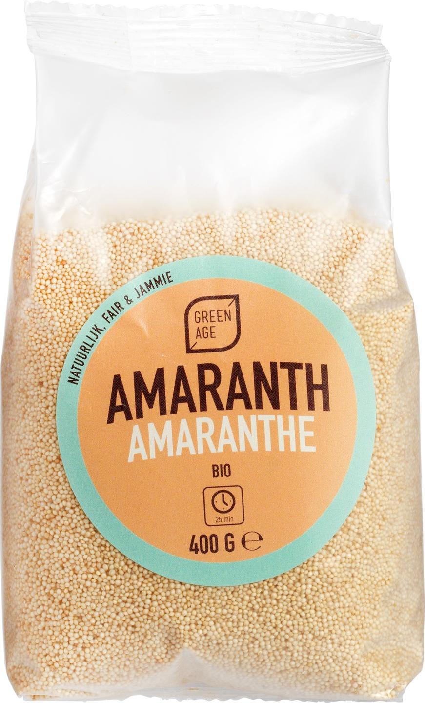 Biologische GreenAge Amaranth 400 gr