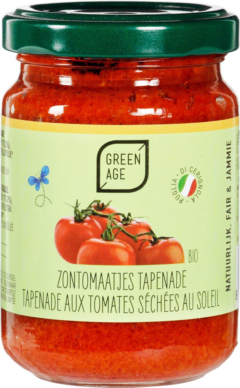 Biologische GreenAge Tomatentapenade 140 gr