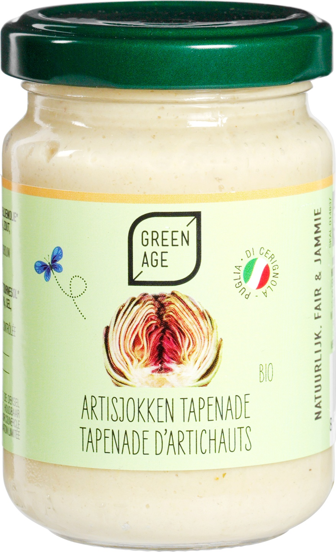 Biologische GreenAge Artisjokkentapenade 140 gr