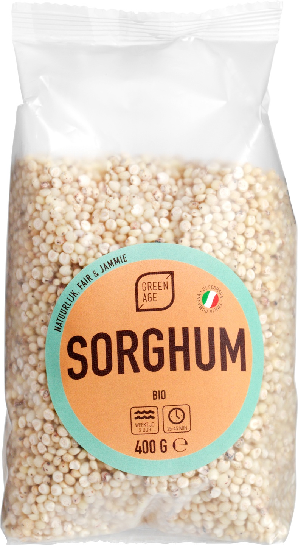 Biologische GreenAge Sorghum 400 gr