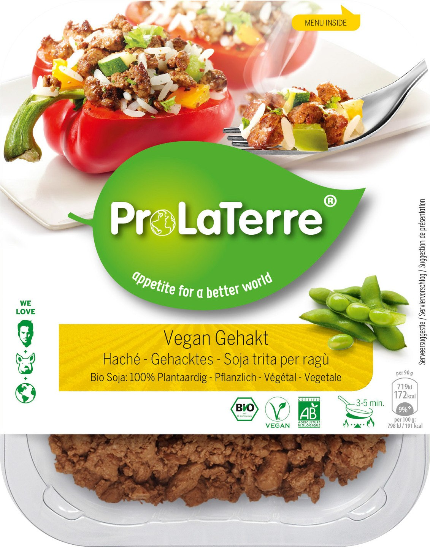 Biologische ProLaTerre Vegan gehakt/haché 180 gr