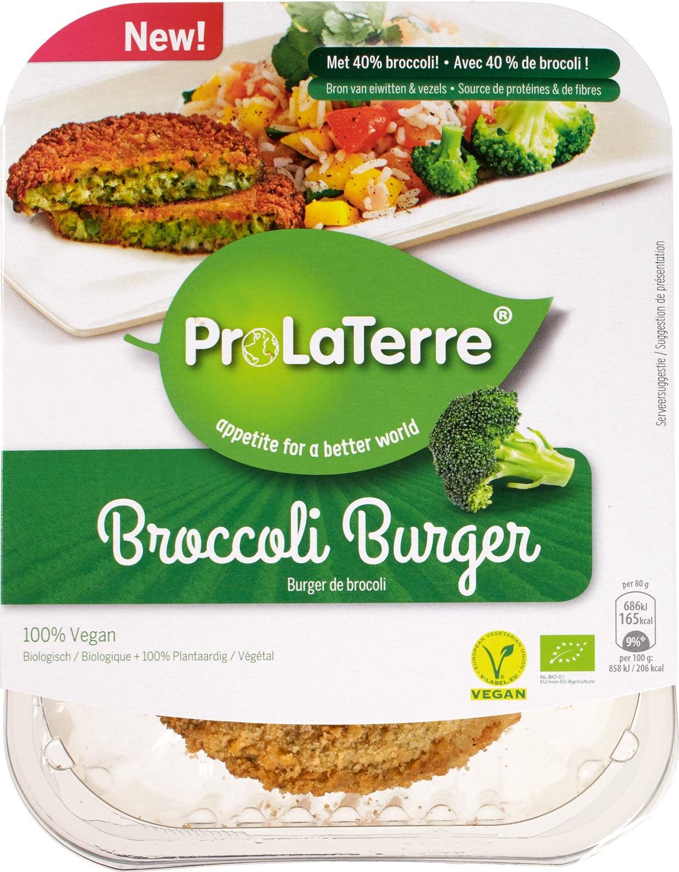 Biologische ProLaTerre Broccoliburger 160 gr