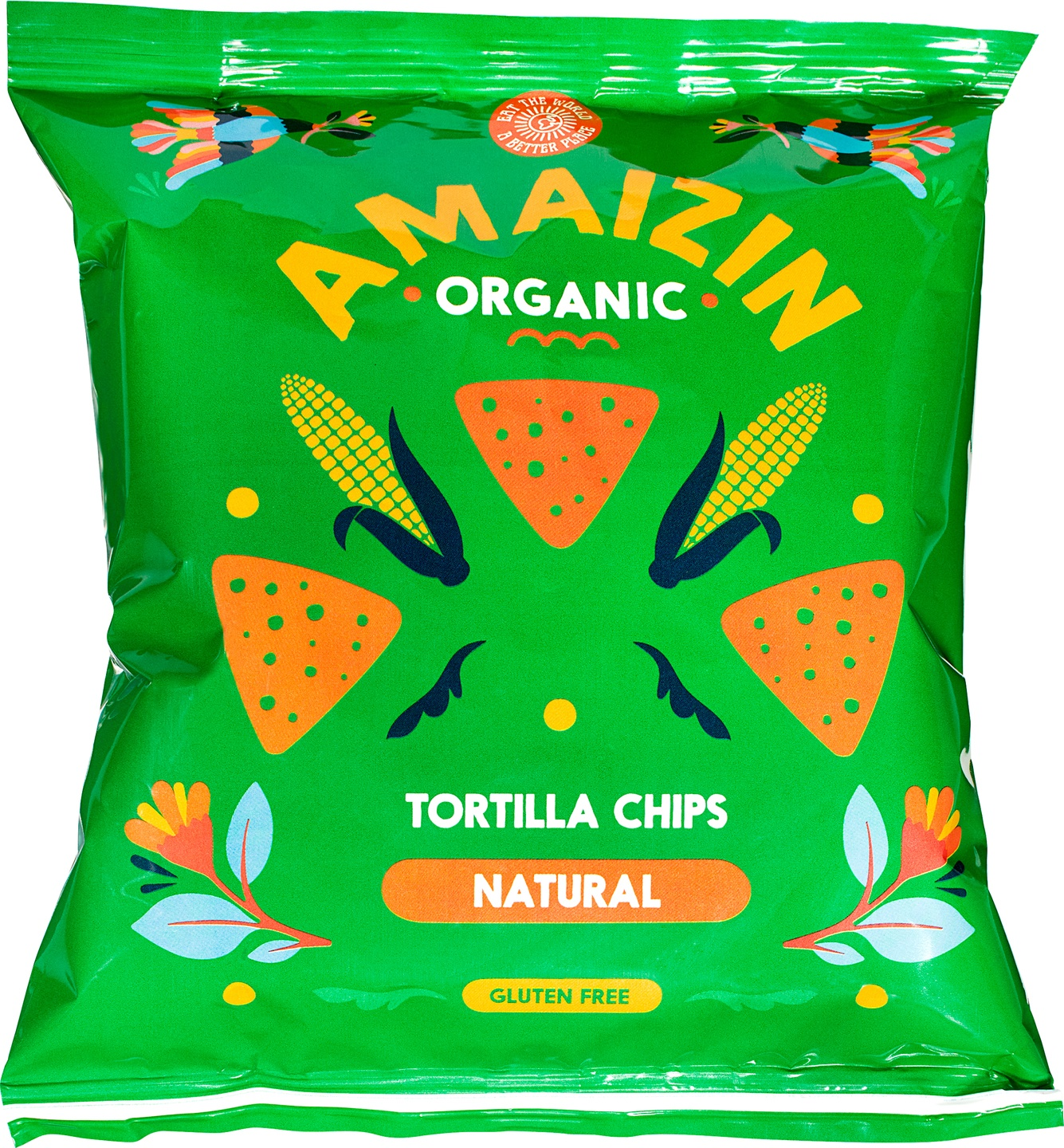 Biologische Amaizin Corn chips natural 75 gr