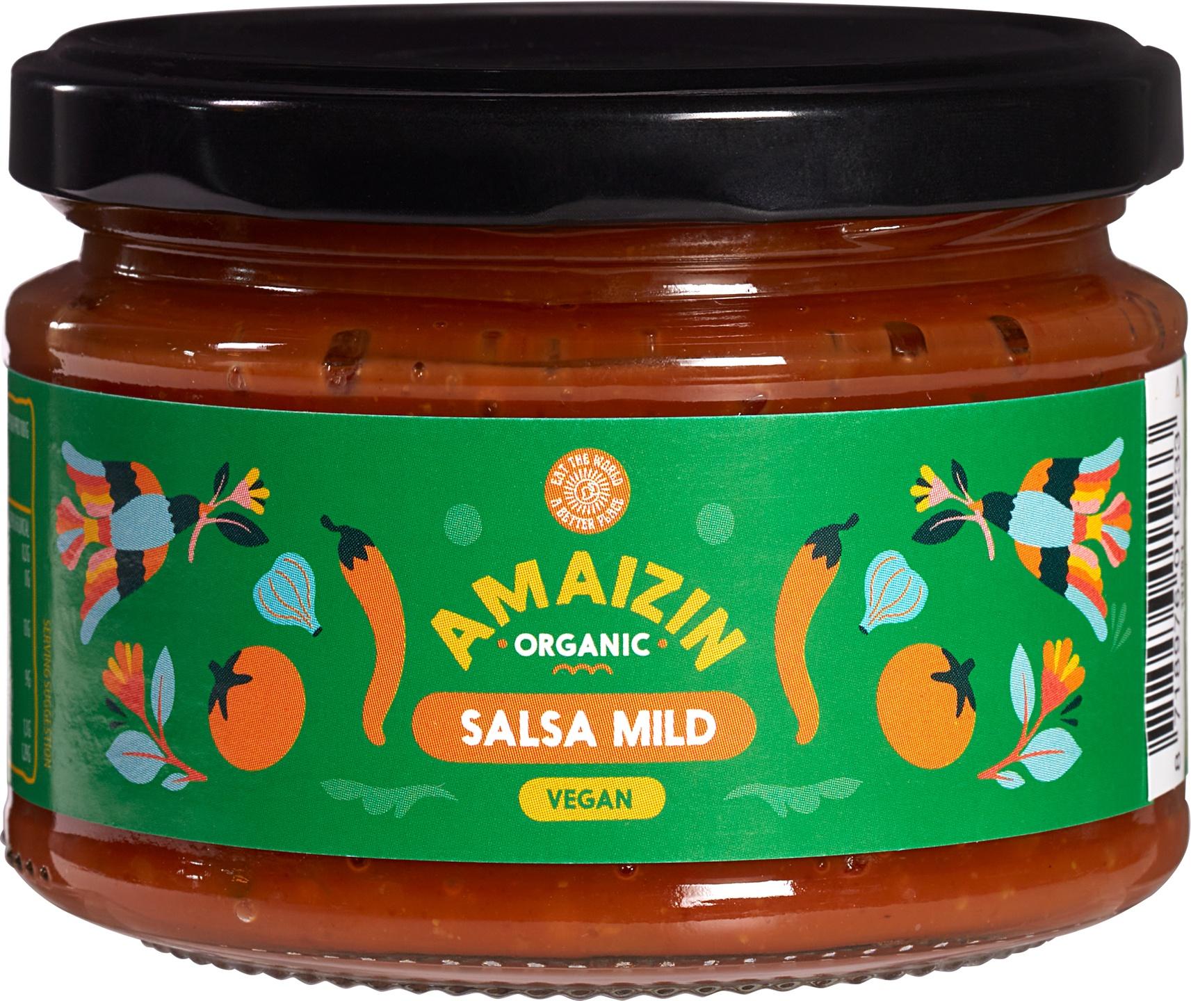 Biologische Amaizin Sweet salsa chip dip 260 gr