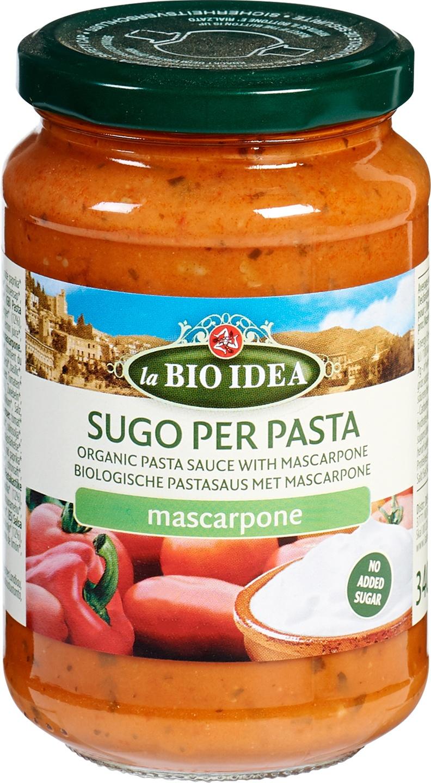 Biologische La Bio Idea Pastasaus Mascarpone 340 gr