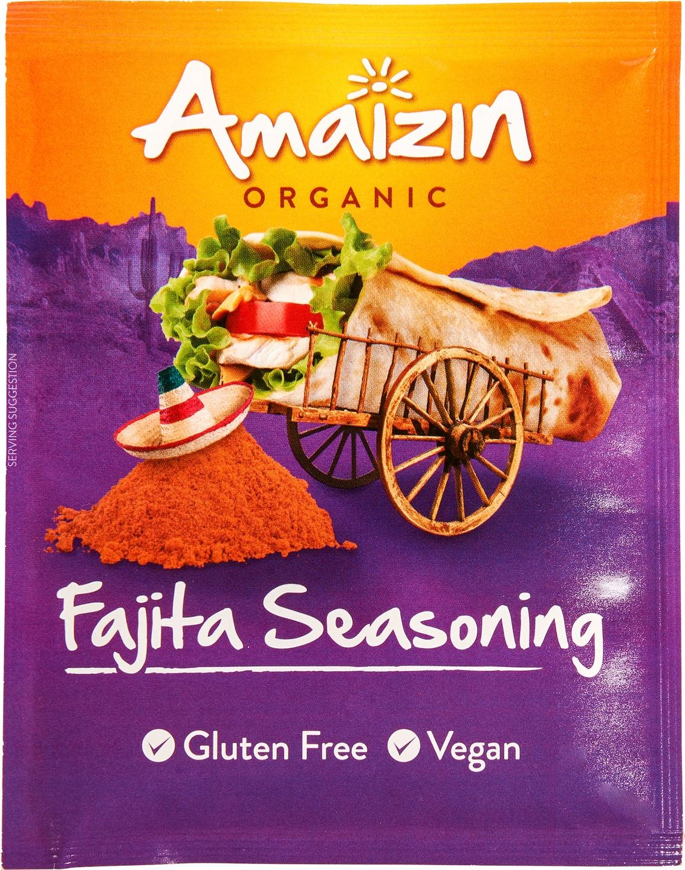 Biologische Amaizin Fajita seasoning 27 gr