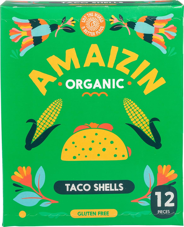 Biologische Amaizin Taco shells 150 gr