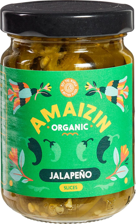 Biologische Amaizin Jalapenos 150 gr