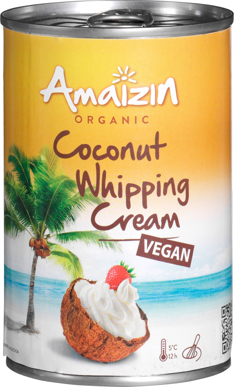 Biologische Amaizin Coconut whipping cream 400 ml