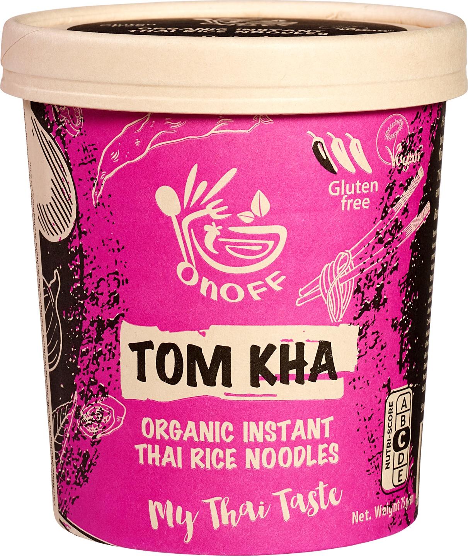 Biologische onoff spices! Instant noodles soup Tom Kha 75 g