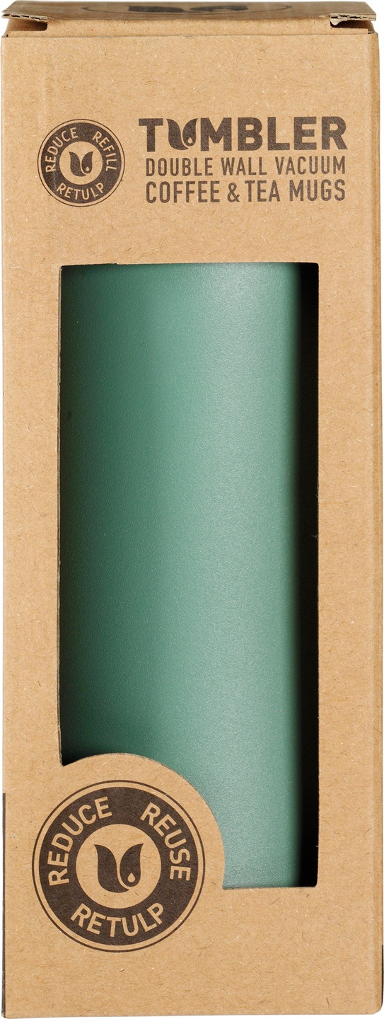 Biologische Retulp Tumbler teal green 300 ml