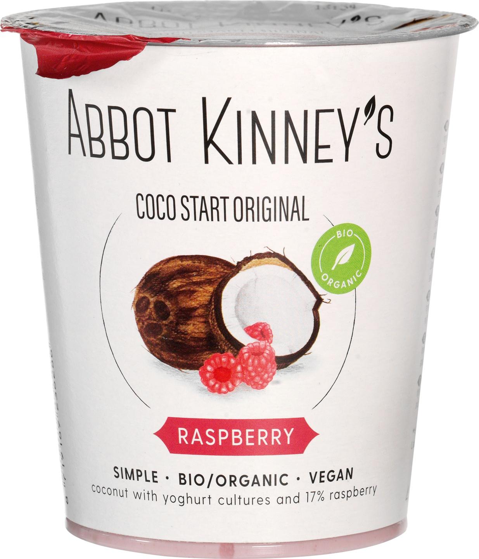 Biologische Abbot Kinney's Coco Start framboos 400 ml