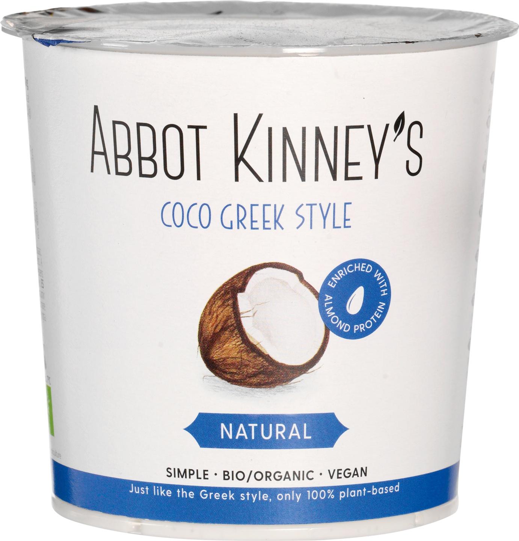 Biologische Abbot Kinney's Coco Griekse stijl 350 gr