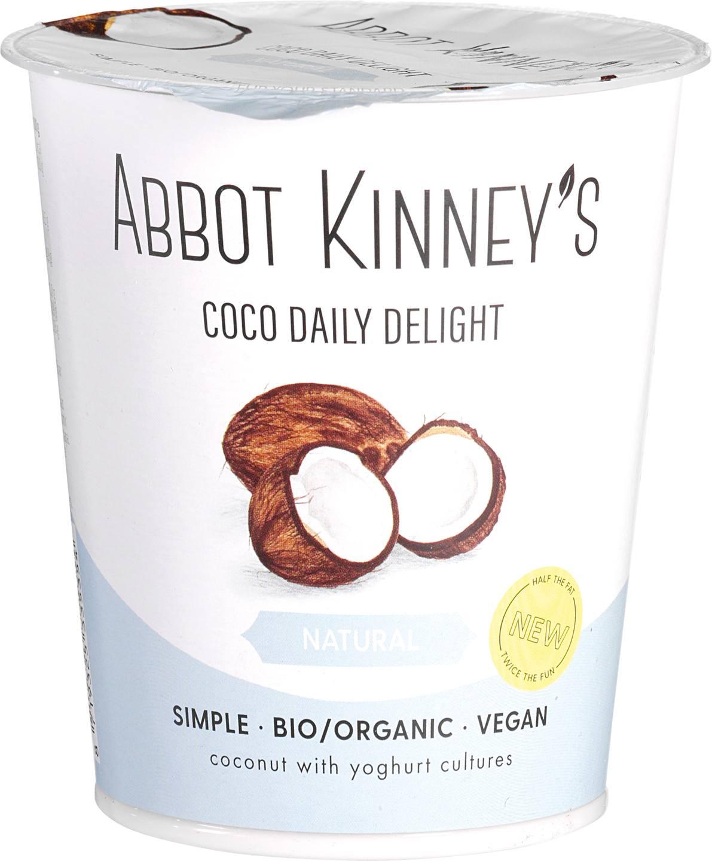 Biologische Abbot Kinney's Daily Delight Coco 400 ml