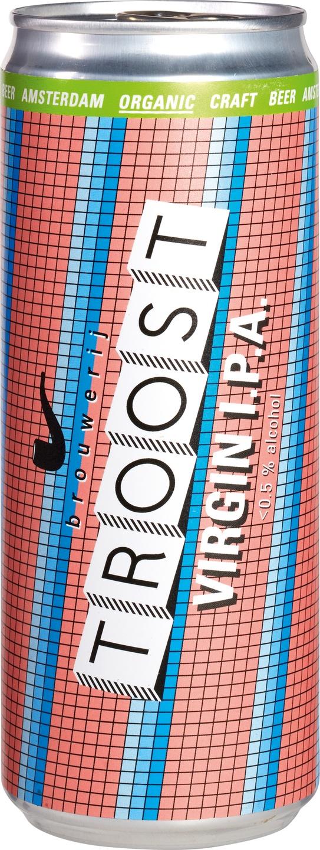 Biologische Brouwerij Troost IPA alcoholvrij 330 ml