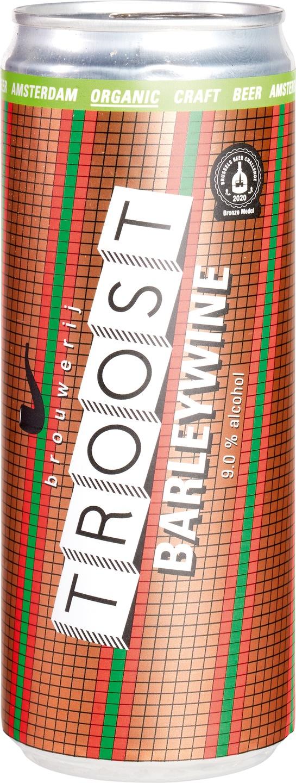 Biologische Brouwerij Troost Barleywine bier 330 ml