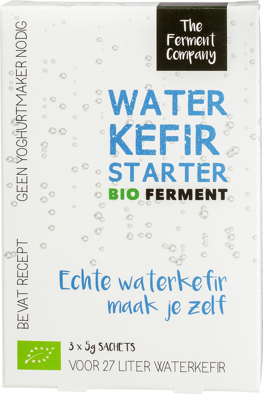 Biologische The Ferment Company Kefir-starter voor water 3 st