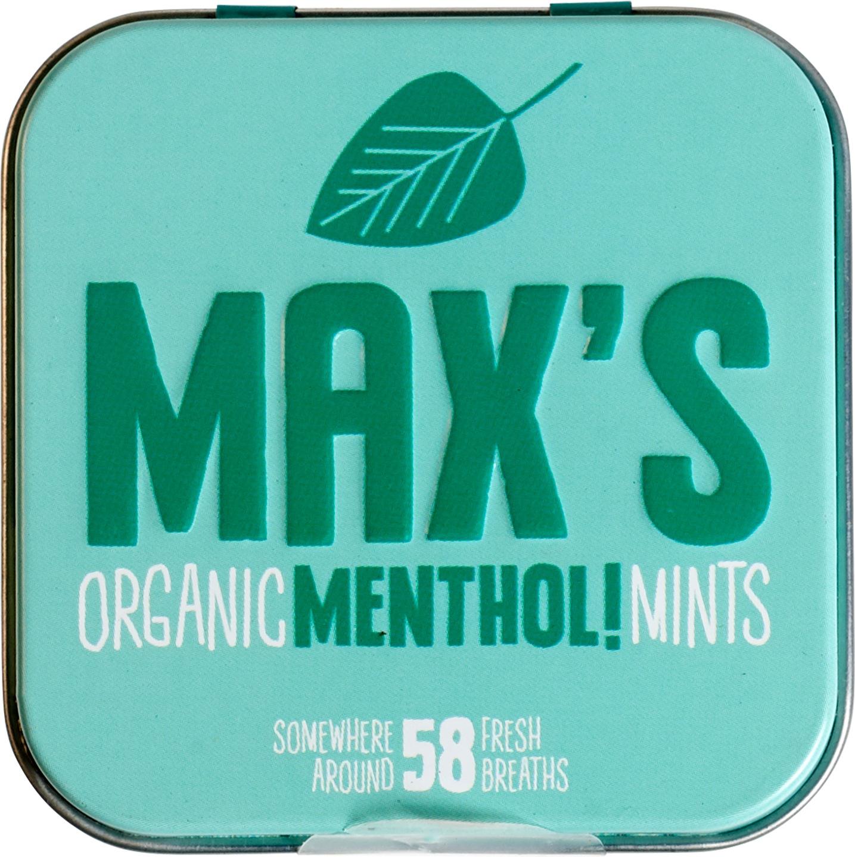 Biologische Max's mints Menthol mints 35 gr