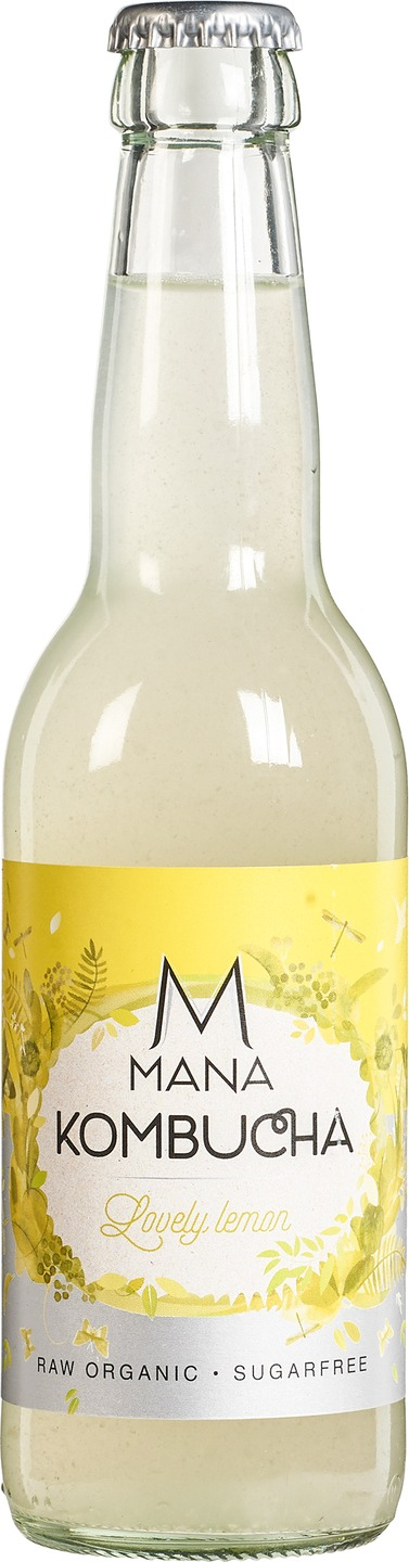 Biologische MANA Kombucha Kombucha Lovely lemon 330 ml