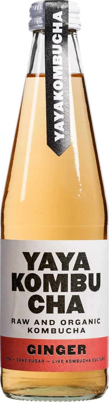 Biologische YaYa Kombucha Kombucha ginger 330 ml
