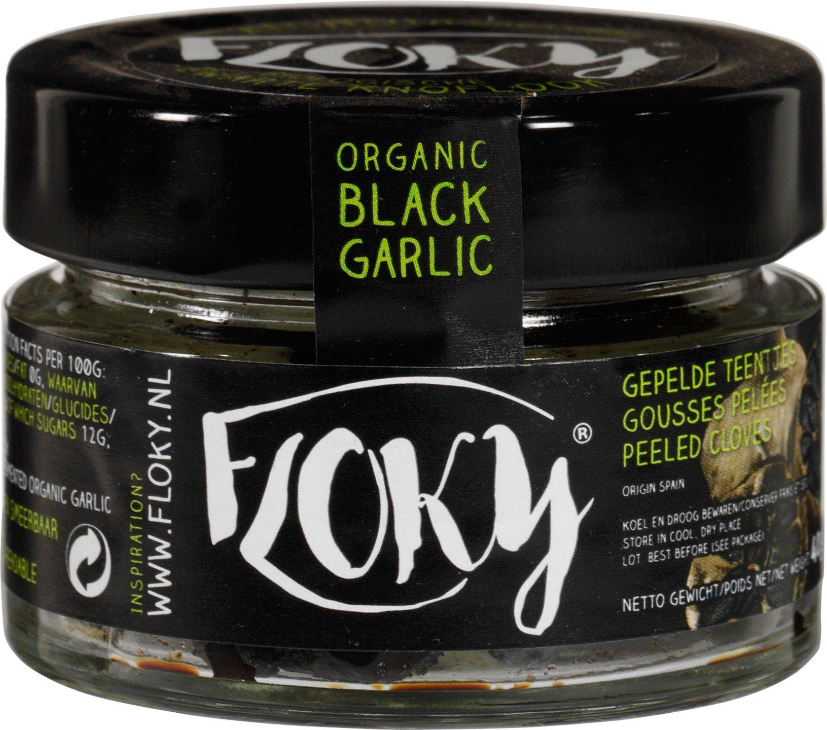 Biologische Floky Zwarte knoflook 40 gr