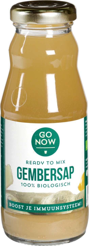 Biologische Go Now Gembersap 200 ml
