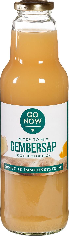 Biologische Go Now Go Now Gembersap 750ml 750 ml