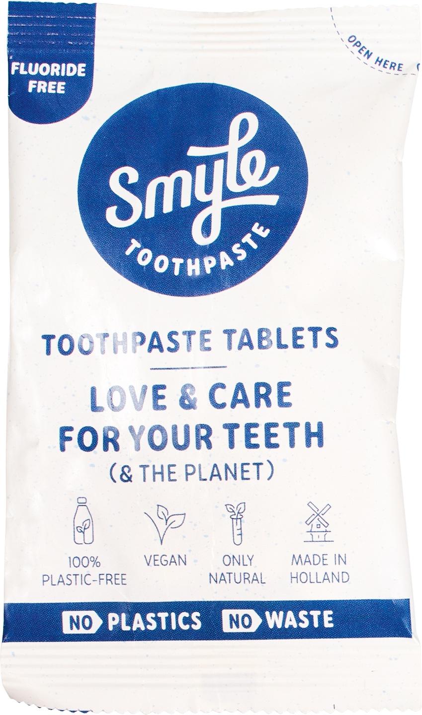 Biologische Smyle Tandpastatabletten navul 65 st